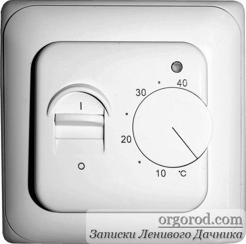 терморегулятор от теплого пола