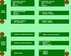 Список растений обновленный