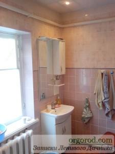 Новая ванная комната в селе