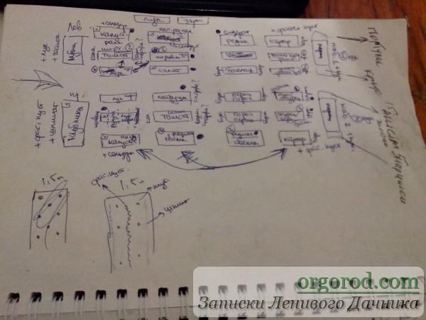 Примерный план посадок на 1016г